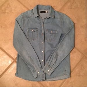 Urban Outfitters Denim Button Down